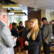 INTERNS FROM 2016 MINGLE AT NETWORKING EVENT